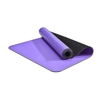 Estera de Yoga Ejercicio Premium Estera de Yoga Caucho ...