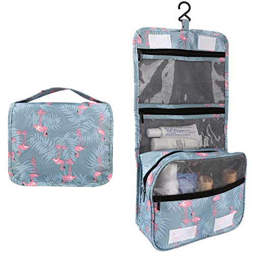 2 Pieces Toiletry Bag Multifunction Hanging Cosmetic Bag Portable Organizer Makeup Bags Pouch Large Capacity Waterproof Travel Bag for Women Girls Men by Fairyland (Image #5)