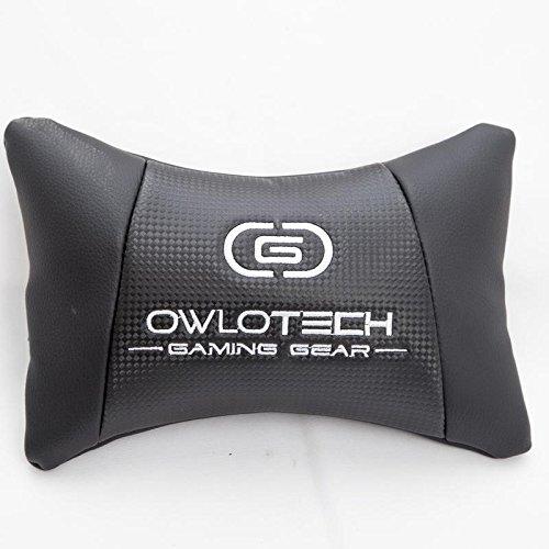 Owlotech Silla para Gaming, Poliuretano, Negro, 33x70x86 cm: Amazon.es: Informática