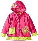 Western Chief Little Girls'  Butterfly Rain Coat, Pink, 6
