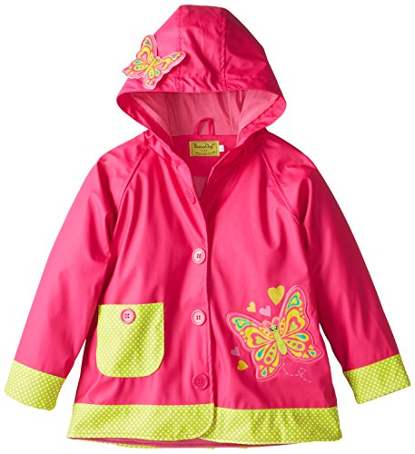 Little Girls' Butterfly Rain Coat