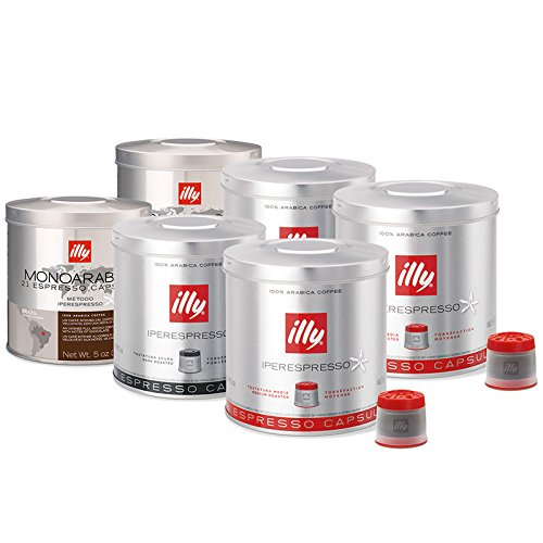 Illy Iperespresso 126 Coffee Capsules - Mixed Case by illy: Amazon.es: Hogar