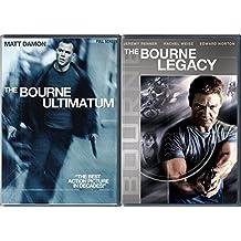 Bourne Double Feature 2-DVD Set - Bourne Legacy & Bourne Ultimatum Movie Bundle
