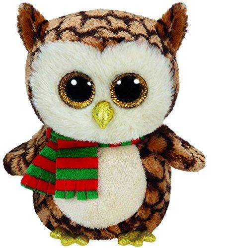Ty Beanie Boo Medium Wise the Owl 9