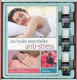 Amazon Fr Huiles Anti Stress Coffret Livre Huiles