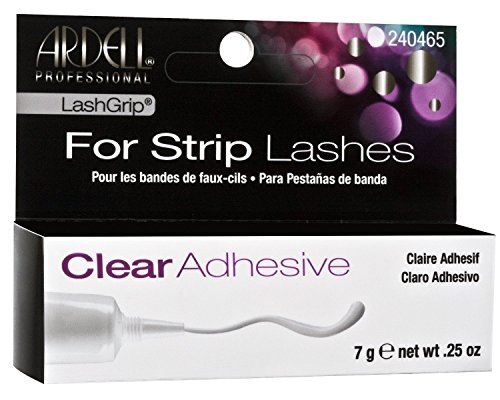 (2 Pack)-Ardell LashGrip for Strip Lashes-Clear Adhesive-.25 oz, each. Ardell Lashgrip Strip Adhesive