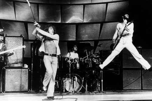 Roger Daltrey, John Entwistle, Keith Moon and Pete Townshend in The Kids Are Alright 24x36 Poster classic The Who