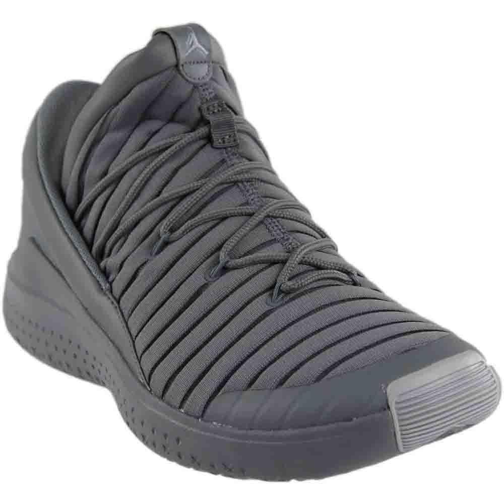 Nike Herren Jordan Flight Luxe Grau Textil/Synthetik Sneaker  44.5 EU|Grau (Cool Grey/Wolf Grey)
