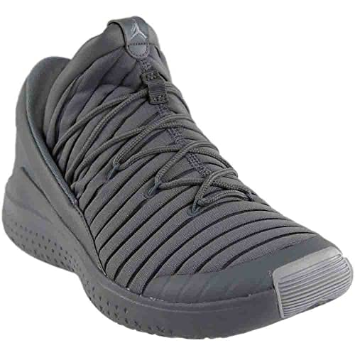 Nike Men s Shoes Jordan Flight Luxe Gray Slip-On In Gray Monochrome Fabric  919715- 86b81b26ad6