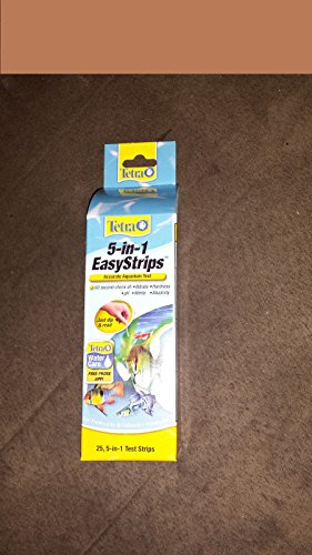 TETRA/JUNGLE 5IN1 TEST STRIPS 25 COUNT EASYSTRIPS
