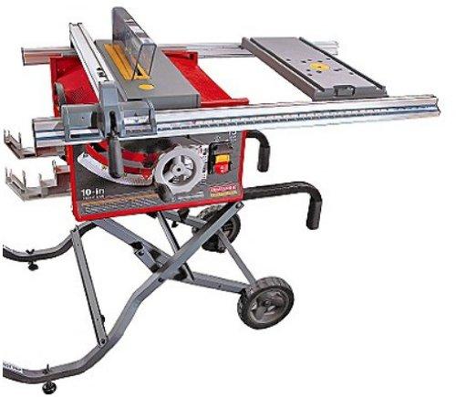 craftsman 9 21829 professional 15 amp 10 inch portable table saw rh amazon com