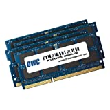 """OWC 16GB ( 4x4GB ) PC3-8500 DDR3 1066MHz SODIMM 204 Pin Memory Upgrade Kit For all Apple iMac 21.5"""" and 27"""" (October/2009) Models. Model OWC8566DDR3S16S"""