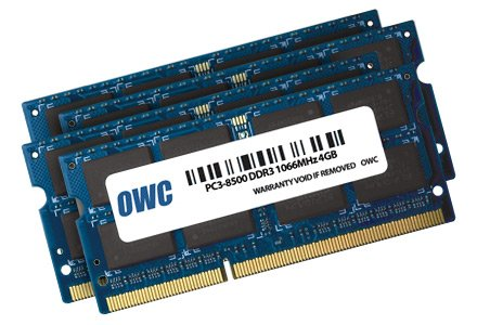 OWC 16.0GB (4 x4GB) PC8500 DDR3 1066 MHz 240 pin Memory Upgrade Kit For Apple iMac 21.5 inch and 27 inch Models by OWC