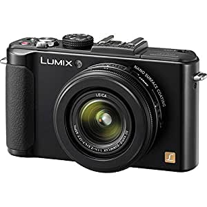 Panasonic LUMIX DMC-LX7K 10.1 MP Digital Camera with 3.8x Optical zoom and 3.0-inch LCD -  Black