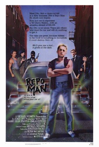 Price comparison product image 27 x 40 Repo Man Movie Poster