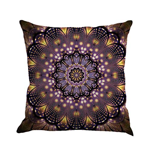 Toponly Home Décor Cushion Cover Geometry Painting Linen Throw Pillow Case