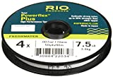 Rio Fly Fishing Tippet Power Flex-Plus 5X-Tippet 50yd Fishing Tackle, Clear Review