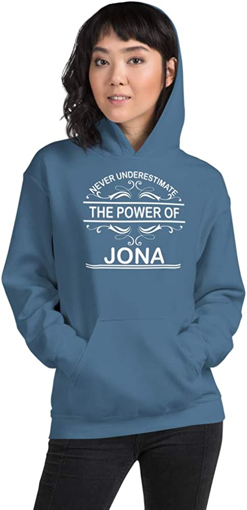 Never Underestimate The Power of Jona PF Indigo Blue