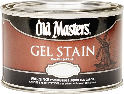 Old Masters 80708 Gel Stain Pint, Dark Walnut (Gel Stain Fiberglass)