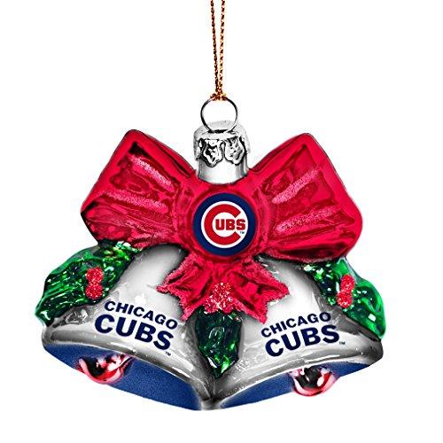 MLB Chicago Cubs Glitter Bells Ornament