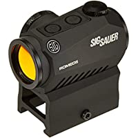 Sig Sauer Romeo 5 1x20mm Compact 2 MOA Red Dot Sight (Black)