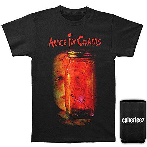 (Alice in Chains Jar of Flies Album Cover T-Shirt + Coolie (XL))