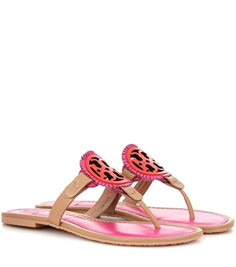 5e31fcefa588f Tory Burch Miller Fringe Flip Flop in Dusty Cypress  Samba  Amazon.ca  Shoes    Handbags