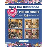 """Spot the Difference """"I Love Shopping"""" Picture Puzzles: Activity Book Featuring Shopping Pictures in Fun Spot the Difference P"""