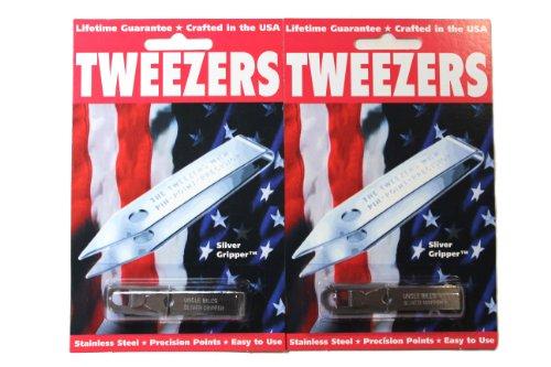 Uncle Sliver Gripper Precision Tweezers