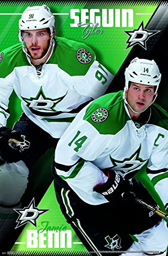 Trends International Dallas Stars-Duo Premium Wall Poster, 22.375