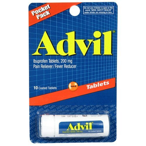 ADVIL TABLETS 10CT