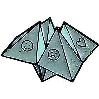 Heyuni.1PC Cute Origami Enamel Brooch Pin Coat Hat Bag Badge Decor Kids Gift