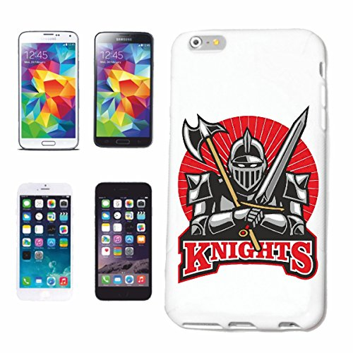 "cas de téléphone iPhone 7S ""CHEVALIERS KNIGHTSWORD KNIGHT ARMOUR Ritterburg KNIGHT CASQUE SHIELD"" Hard Case Cover Téléphone Covers Smart Cover pour Apple iPhone en blanc"