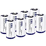 EBL CR123A Batteries 123A 123 Lithium Batteries Photo Battery with PTC Protection 1600mAh