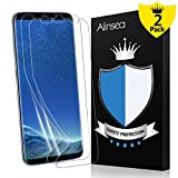 Galaxy S8 Plus / S8+ Screen Protector, Alinsea Galaxy S8 Plus / S8+ Screen Protector [Case Friendly] [Bubble-Free] [Anti-Scratch] [No Lifted Edges] for Samsung Galaxy S8 Plus / S8+ (2-Pack)
