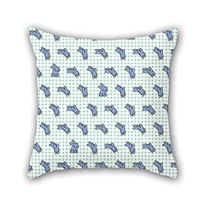 NICEPLW Rabbit Pillow Cases 16 X 16 Inches / 40 By 40 Cm Best Choice For Him,bar,teens,dining Room,christmas,boy Friend With Two Sides