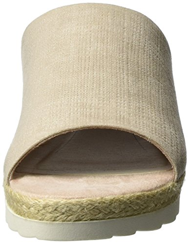 Mujer Softline Beige Metallic 407 Sandalias Chanclas para Dune 27361 Tipo PwCwaqXxg