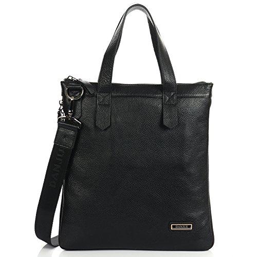 Men's Shoulder Bag Cross Body Messenger Bag Real Leather ...