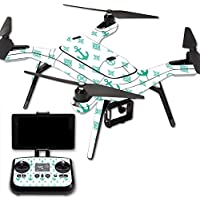 MightySkins Protective Vinyl Skin Decal for 3DR Solo Drone Quadcopter wrap cover sticker skins Teal Designer