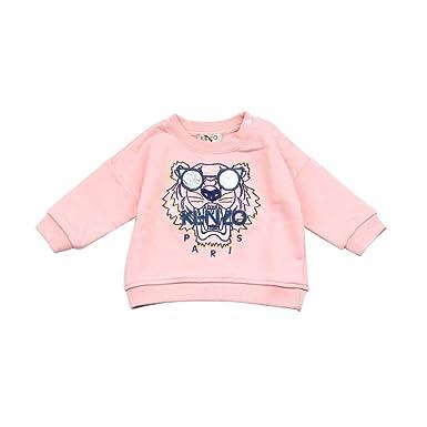 KN15108-BB 6M Kenzo Kids Felpa Tiger Bambino Baby Girl Mod