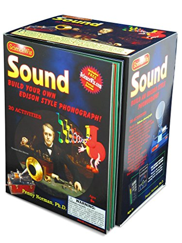 ScienceWiz - Sound Build Your Own Edison Style Phonograph