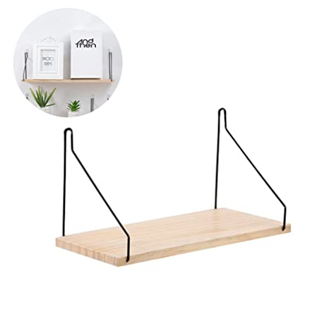 Bandeja de almacenamiento.Multi-función madera maciza marco de la sala de estar decoración de hierro forjado perchero baño cocina colgante de pared ...