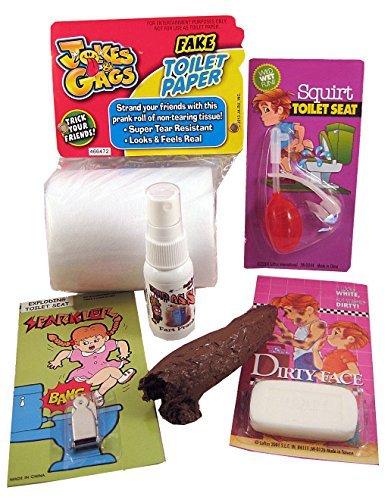 Brilliant Bathroom Prank Kit By The One Stop Fun Shop Prank Crazy Beatyapartments Chair Design Images Beatyapartmentscom