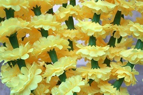 Buycrafty-5-Feet-Long-Strands-Marigold-Garlands-Flower-Garland-Indian-Wedding-Flowers-Diwali-Marigold-Set-of-5-Party-Decor-Wedding-Deepavali