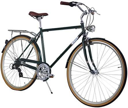Zycle Fix Civic Men - Forest - Men City Series 7-Speed Urban Commuter Bike