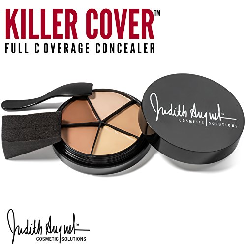 Killer Cover Full Coverage Concealer Makeup - Cover Bruises, Tattoos, Age Spots & More (Best Makeup Brand To Cover Freckles)