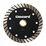 Concord Blades CTW045A10CP 4.5 Inch Continuous Wide Turbo Teeth Diamond Blade with Cooling Holes