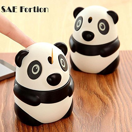 Star Holder Toothpick (STAR-FIVE-STORE - Cute Toothpick Box Panda Shaped Automatic Toothpick Holder Storage Box Fashion Table Decoration Accessories LPT8735)