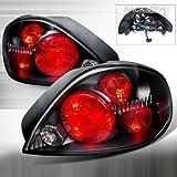 Spec-D Tuning LT-GAM99JM-DP Depo Pontiac Grand Am Black Altezza Tail Lights