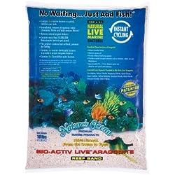 Worldwide Imports AWWA10801 Live Aragonite Sand, 20-Pound, Pink